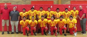 Jr. High Football Team Plays First Game