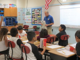Third Graders Receive Personal Dictionaries
