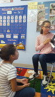 Elementary and Middle School Students Collaborate to Create Stories