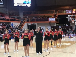 UNPS Cheer team claims 4th in competition