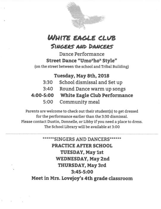 White Eagle Club Dance
