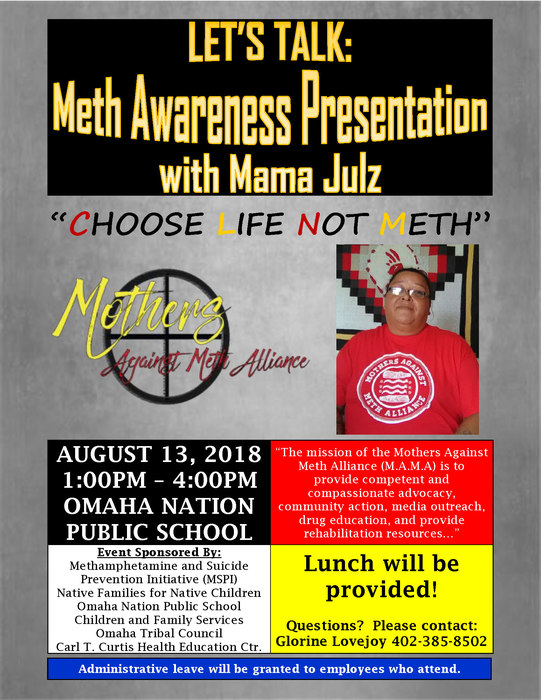 Meth Awareness Presentation