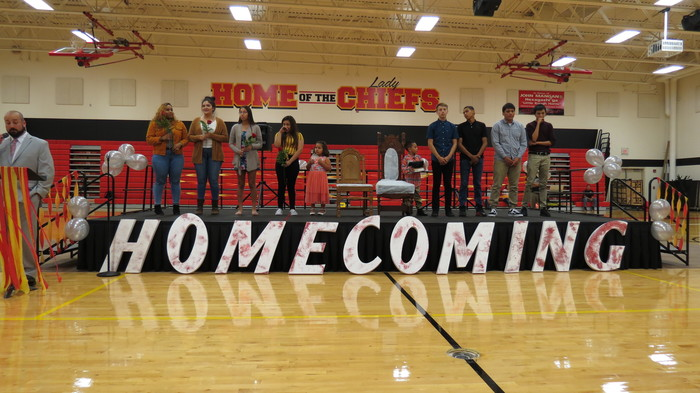 2018 Homecoming Royalty