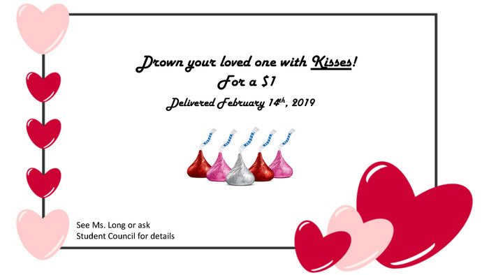 Drown your loved one with Kisses!