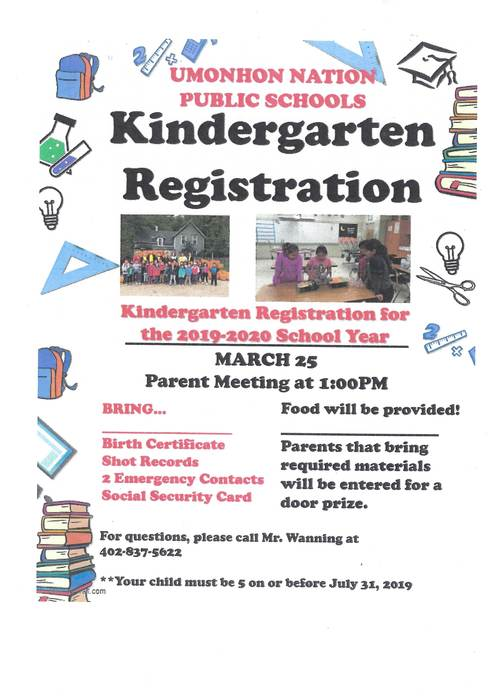 Kindergarten Registration