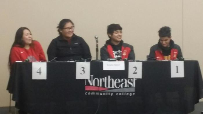 Our Omaha Nation quiz bowl team is ready to compete.