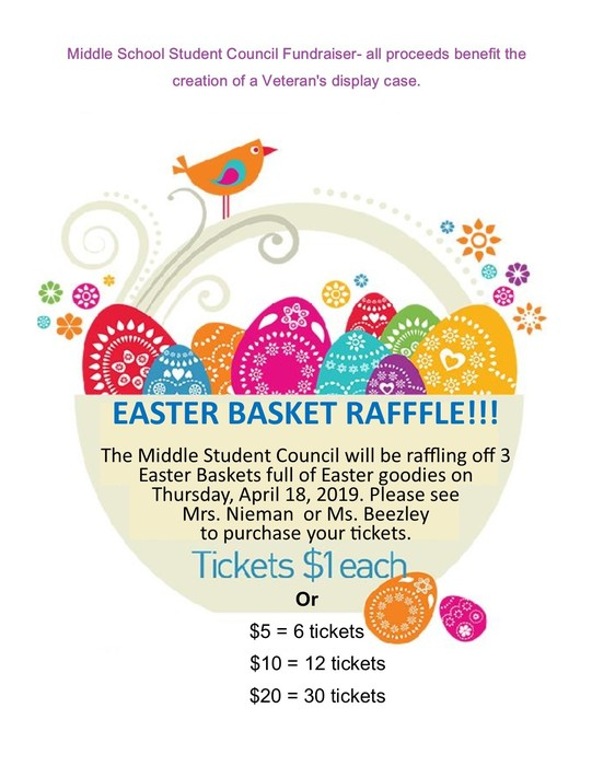 Easter Basket Raffle