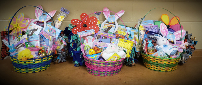 Easter Baskets for MS Student Council