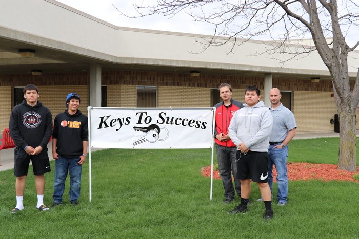 A few of our Omaha Nation students went to the keys to success event in South Sioux City were they talked with different colleges as well as looked into different careers.