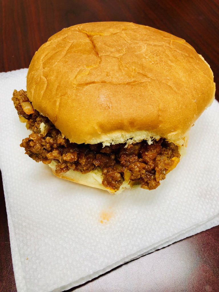 High school students in Family and Consumer Science class made delicious sloppy joes today.