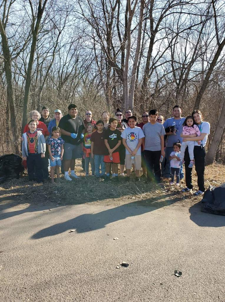 Our White Eagle Club and JAG program volunteered their time and energy to help clean up our beautiful land.