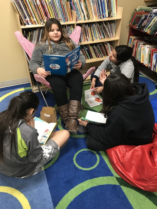 Students Celebrate Read Across America Day